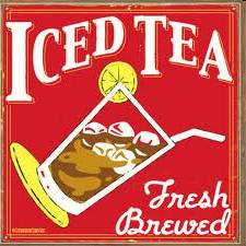 Iced tea or ice tea?