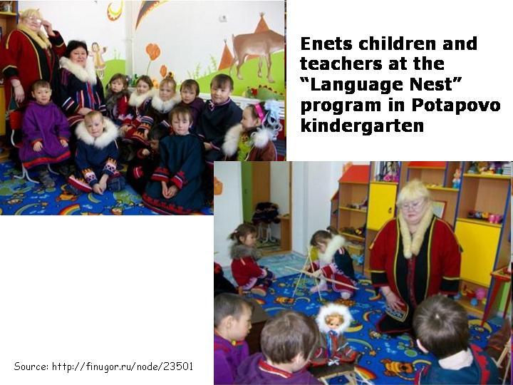"""Language Nest"" Program to Nurture the Enets Language"