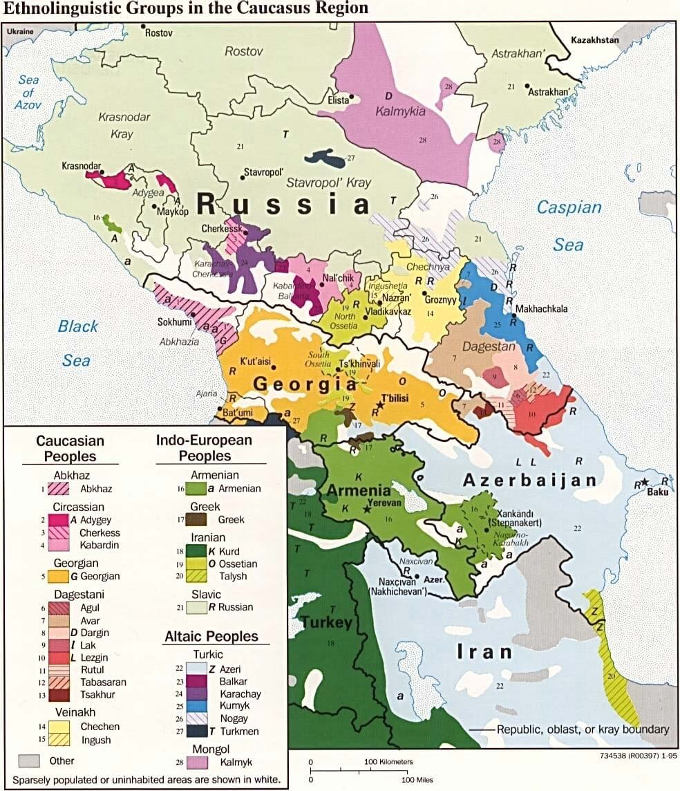 Peoples, languages and genes in the Caucasus: An Introduction