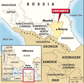 Where's Chechnya?—And a Brief Look at Its Bloody History