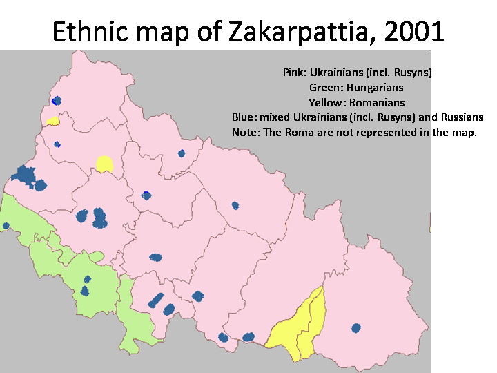 The Rusyn Issue in Zakarpattia (Transcarpathia)