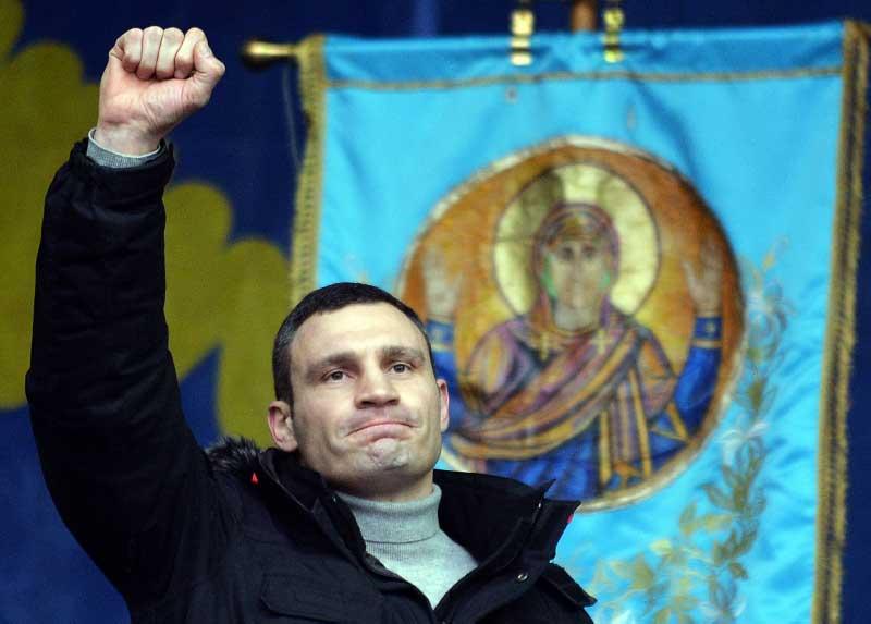 """Strange Bedfellows"" Emerge in Ukraine Protests"