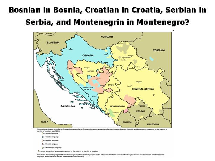 (Serbo-)Croatian: A Tale of Two Languages—Or Three? Or Four?