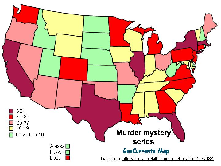 The Geography of Detective Fiction