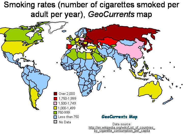 Mapping the Global Patterns of Tobacco Consumption