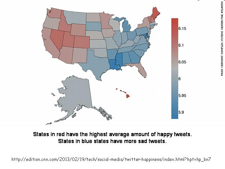 The Geography of HappinessAccording to Twitter Languages Of The