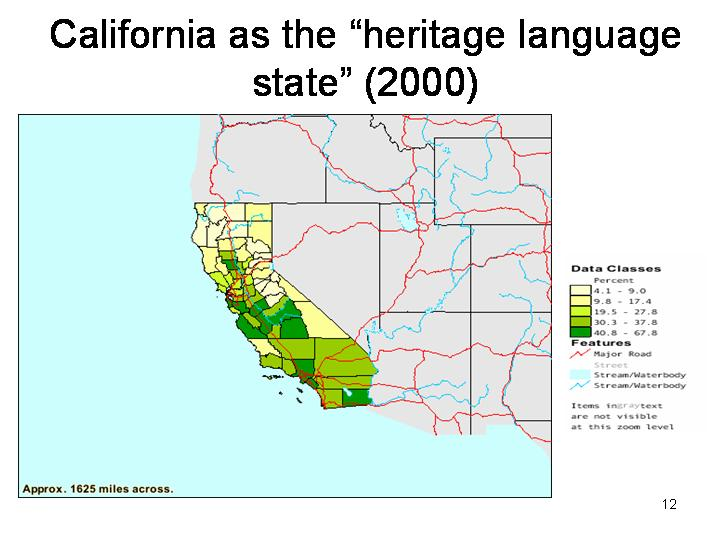 Linguistic Diversity in Northern California
