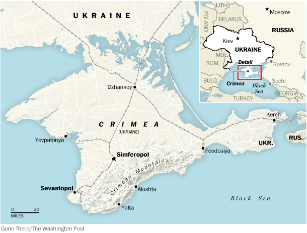 """Crimea and Punishment"": Comments on the Media Coverage of the Recent Events in Crimea"
