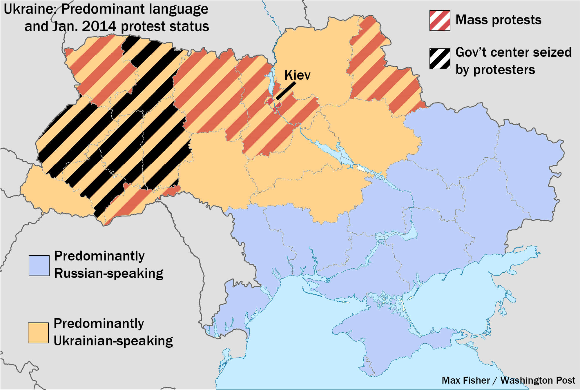 "The Tale of Two Ukraines, the ""Missing"" Five Million Ukrainians, and Surzhyk"