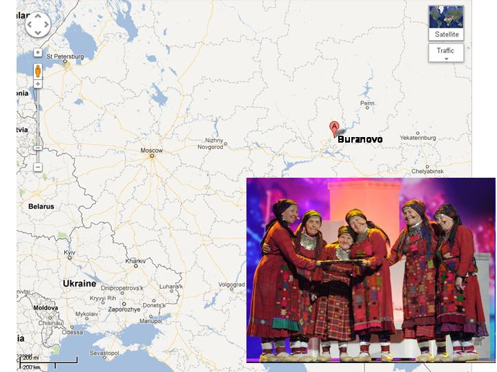 """Buranovskie Babushki"" from Udmurtia Finish in Second Place at the Eurovision Song Contest"