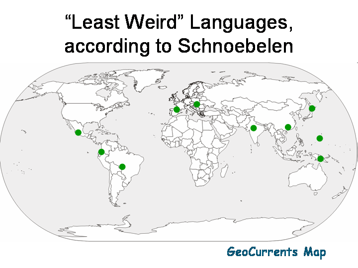 Just How Weird Are the World's Weirdest—and least Weird—Languages?