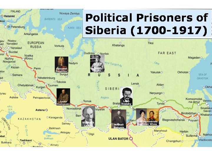Political Prisoners of Siberia, part 1: Tsarist Russia