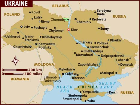 Ukraine's Former President Yanukovich's GeoGaffes