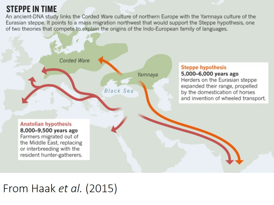 Ancient Dna And The Indo European Question Yet Again Languages Of