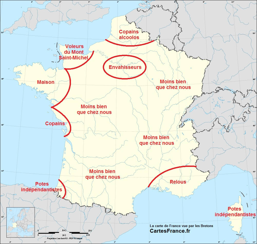 Brittany, Another Independence-Seeking European Region - Languages Of The World